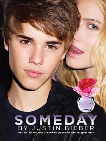 Джъстин Бибър с нов женски аромат на име Someday